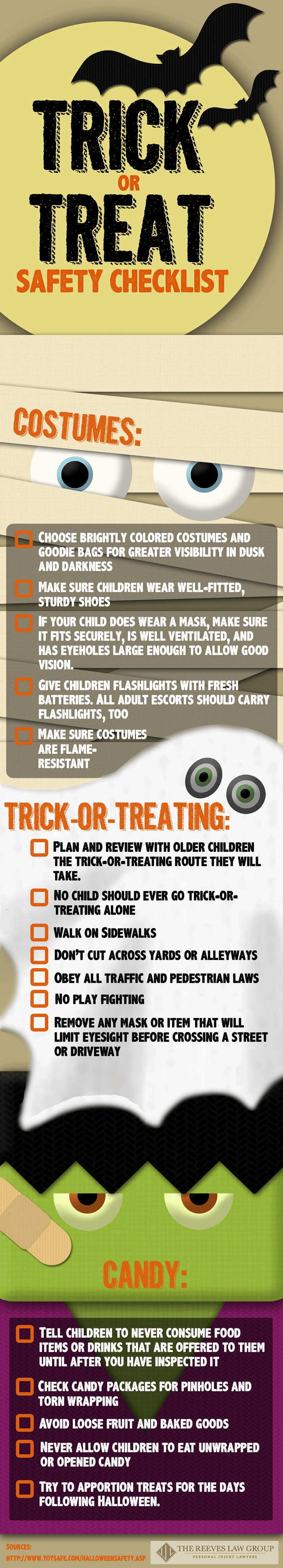 trick or treat safety info