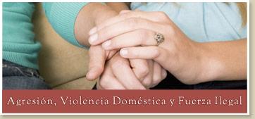 agresion-violencia-domestica-y-fuerza-Ilegal