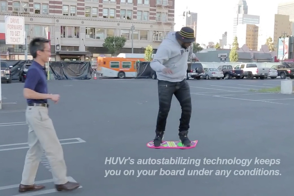 HUVr's Hoverboard Hoax Graphic