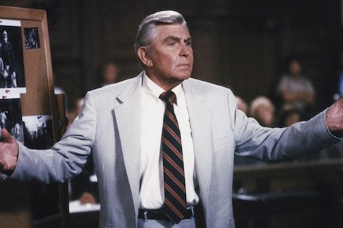 Andy Griffith as Benjamin Matlock