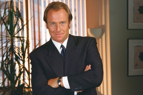 Corien Bernsen as Attorney Arnie Becker of L.A. Law