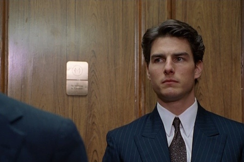 Tom Cruise as Lawyer Mitch McDeere of The Firm