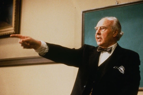 John Houseman as Charles W. Kingfield, Jr., of The Paper Chase film/TV series