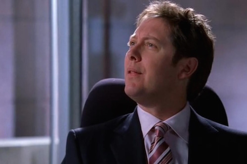 James Spader as Alan Shore of Boston Legal