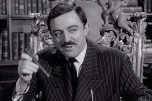 Gomez Addams of The Addams Family