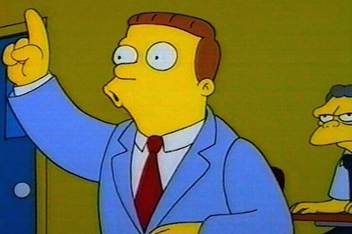 Attorney Lionel Hutz of The Simpsons
