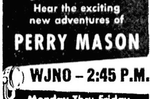 Perry Mason Radio Show Bill Graphic