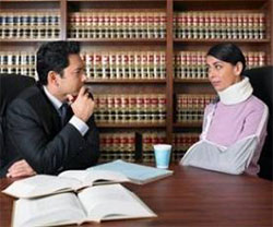 Choosing a Personal Injury Attorney Graphic