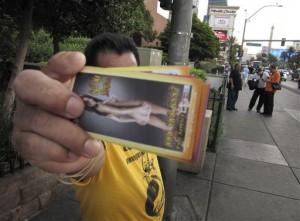 Vegas Sidewalk Handbiller