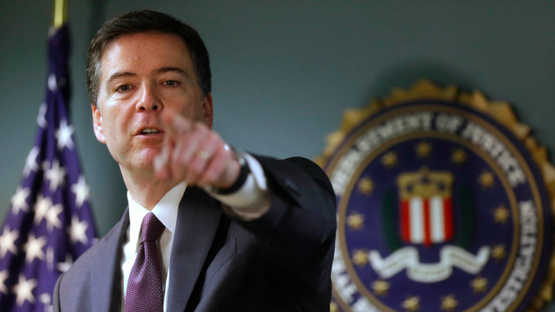FBI Director James Comey Image Source: gizmodo.com