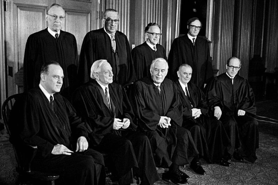 The 1972 Supreme Court Image Source: usnews.com