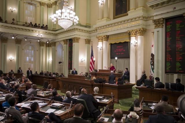 The California Legislature in Sacramento  Image Source: sacbee.com