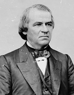 President Andrew Johnson Image Source: wikipedia.org