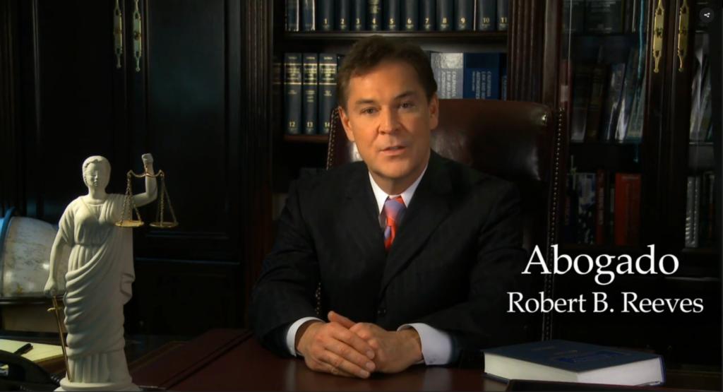 Abogado Robert Reeves Mas Informacion
