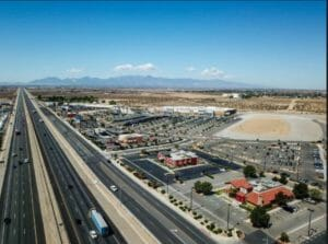 city of victorville ca overhead aerial photo 2019
