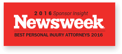 Newsweek 2016 Best Personal Injury Attorneys