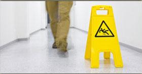 Slip and Fall Warning