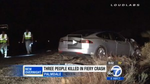 Tesla Model S Involved In Fatal Accident in Palmdale