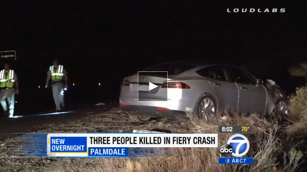 Tesla Driver Leaves Trail Of Death And Injuries The