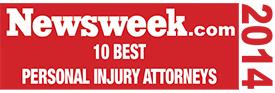 10 Best Personal Injury Attorneys 2014