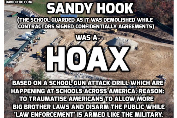 Sandy Hook FBI Hoax Graphic