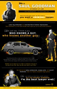 who is saul goodman quotes infographic tv lawyers