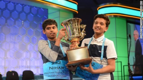 2016 Scripps Spelling Bee Champions                       Image Source: cnn.com