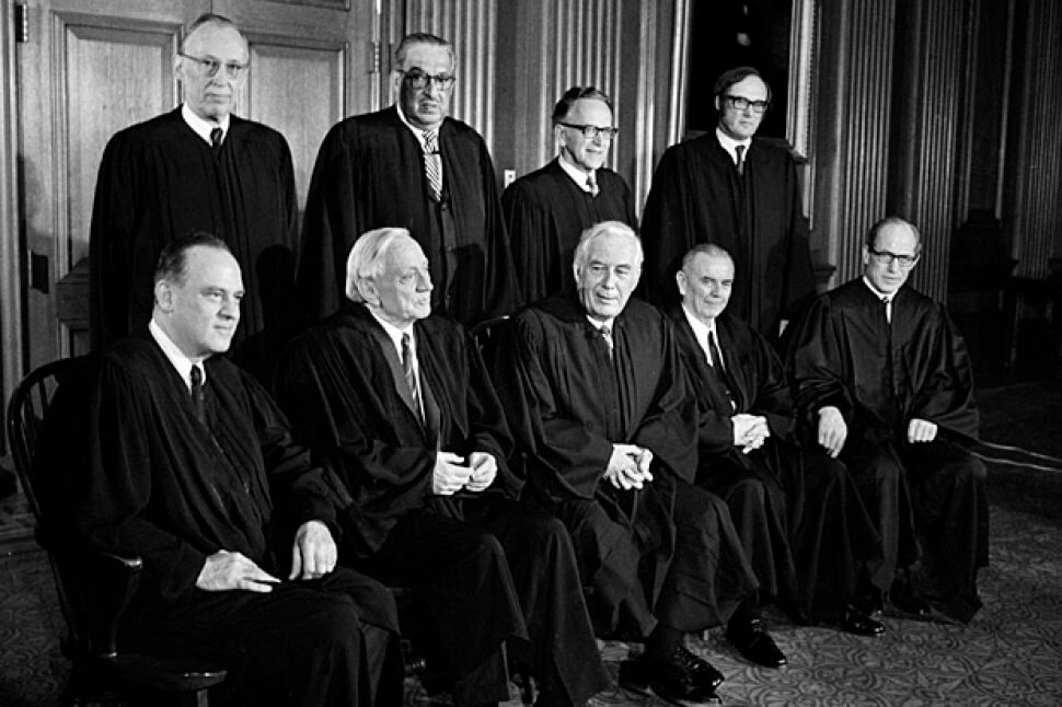 The 1972 Supreme Court Image Source: usnews.com